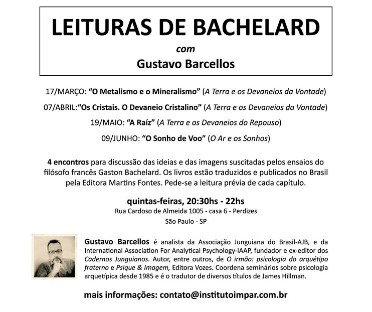 Leituras de Bachelard